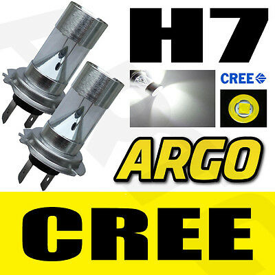 2x H7 SUPER WHITE CREE HIGH POWERED 499 LED SMD 20W PROJECTOR BULBS LAMP LIGHT