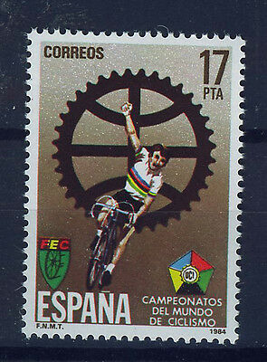 SPAIN 1984 SC.2389 MNH Bycycling Championship
