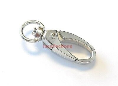 Metal Swivel Clasp Lanyard Hook Snap Clips lobster Clasps 10 25 50 100 200 H47