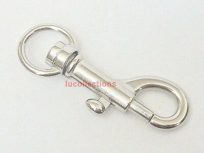 Metal Swivel Clasp Lanyard Hook Snap Clips lobster Clasps 10 25 50 100 200 H48