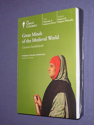 Teaching Co Great Courses DVD   GREAT MINDS of the MEDIEVAL WORLD   + bonus
