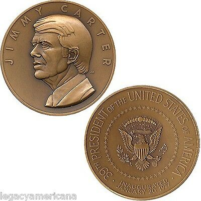 Official 1977 Jimmy Carter Inauguration Medal (5336)