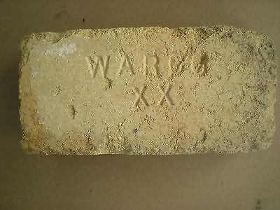 vintage brick with WARCO XX logo