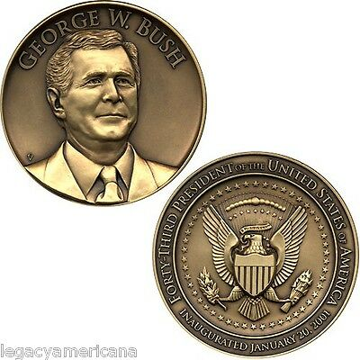 Official 2001 George W. Bush Inauguration Medal (2748)