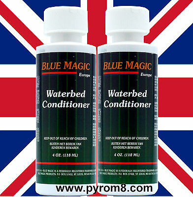 Blue Magic All Purpose Waterbed Conditioner 118ml 4oz x 2 Bottles