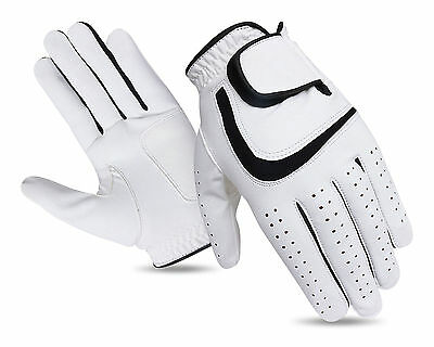 JL Golf all weather synthetic golf glove Size MEDIUM Mens Excellent grip