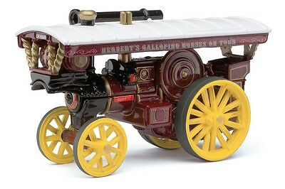 Burrell Showman's 'Majestic', Herbert's Galloping Horses on Tour Steam Traction