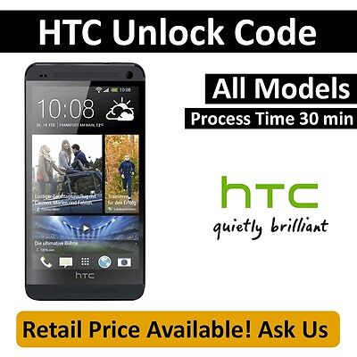 Unlock code for any T-MOBILE HTC One Sensation S X V Wildfire 4G myTouch HD7 HD2