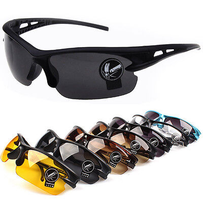Motorcycle Cycling Riding Bicycle Running Sports Protective Goggle Sunglasses e