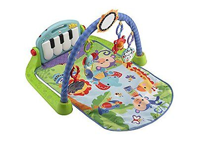Fisher-Price Kick and Play Piano GYM TOY, Unisex Baby Music PLAYMAT, BMH49