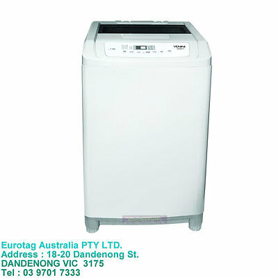 Venini 7Kg Top Load Washer Features 5 Wash Programs