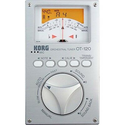 Korg OT120 Orchestral and Band Tuner