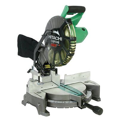 Hitachi Power Tools C10FCH2 Hitachi 10-in 15 Amp Compound Miter Saw with Laser M