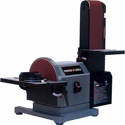 Porter Cable PCB420SA PORTER-CABLE 4-in x 8-in Belt/Disc Bench Sander