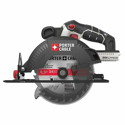 Porter Cable PCC660B PORTER-CABLE 20-Volt MAX* Lithium-Ion 6 1/2-in Cordless Cir
