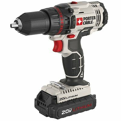 Porter Cable PCC601LB PORTER-CABLE 20-Volt MAX* Lithium-Ion 1/2-in Variable Spee