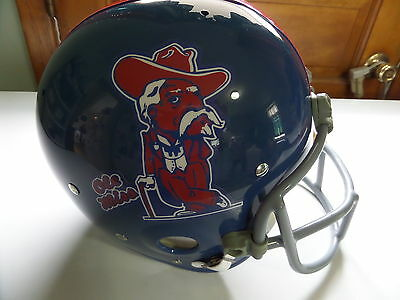 Ole Miss custom Suspension TB Helmet, Archie Manning Style