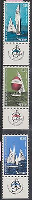 (WE38) 1970 Israel 3set sailing championships MNG