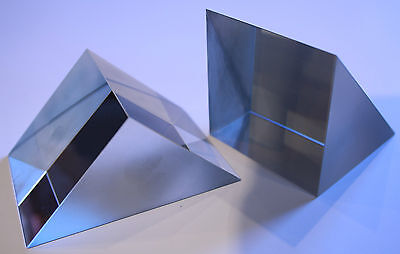 Right Angle N-BK7 Prisms Uncoated Faces Precision Grade (RP-1)
