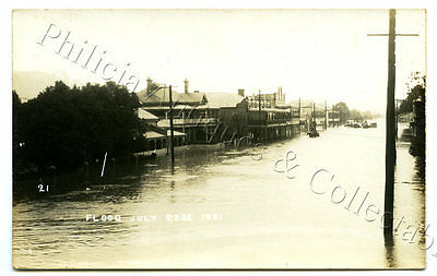 23.7.19 RP NPU POSTCARD SEVERE FLOODS IN LISMORE NSW PHOTO NO 21. r94