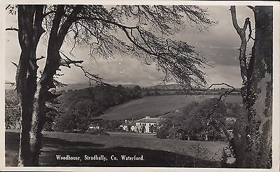 Woodhouse, Stradbally, Co. Waterford, b+w RP postcard, posted 1960