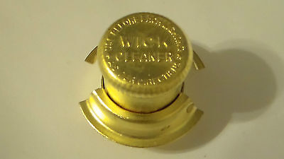 Reproduction Aladdin Style Brass Wick Cleaner Trimmer - Not An Aladdin Product