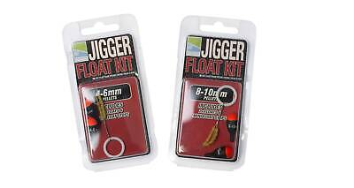 Preston Innovations Jigger Float Kit With Two Floats Both Sizes Available
