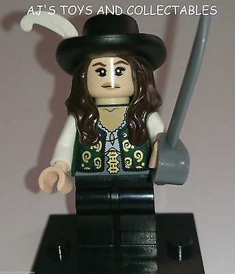 LEGO PIRATES OF CARIBBEAN ANGELICA MINIFIG NEW from 4195 **WHITE FEATHER **