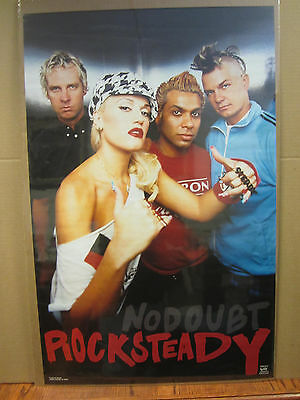 Vintage No Doubt Rock Steady 2002 poster music artist rock band 3465