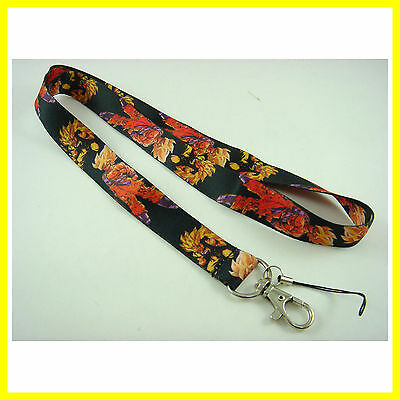 RARE Dragonball Dragon Ball Z Neck Lanyard Strap Cell Mobile Phone,ID Card,Keys