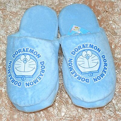 "New 10"" Doraemon plush soft warm cute slippers comfortable gift"