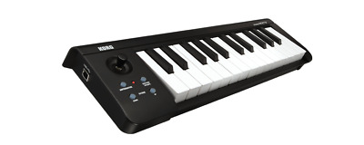 Korg MICROKEY-25 25 Key Note Portable Travel Mini MIDI Keyboard