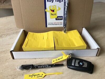 Car Key Tags X 1000 To Identify your Vehicles Service Or Sales Budget Tag
