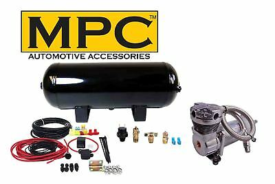 Onboard Air System w/150psi, 100% Duty Compressor, 3 Gal Tank for Horns, Air Bag