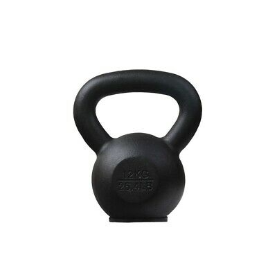 12Kg Classic Steel Kettlebell Russian Gym Weights Strength Training Accessories