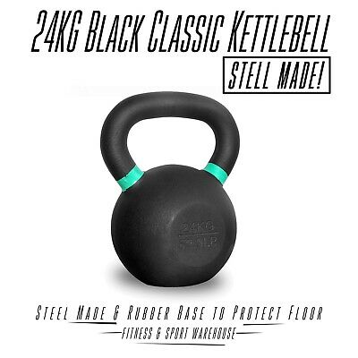 Classic Kettlebell 24KG Weight kettle bell Fitness Exercise Training Equipment
