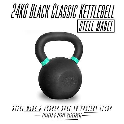 NEW Russian Style Classic Kettlebell 24KG Fitness Strength Training Equipment