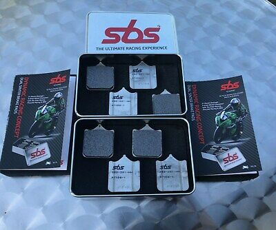 2x SBS 870 DS-1 Racing Dual Sinter Bremsbeläge BMW S 1000 RR, S1000RR brake pads