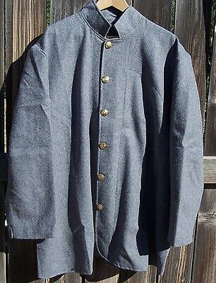 CIVIL WAR CONFEDERATE SACK COAT  48