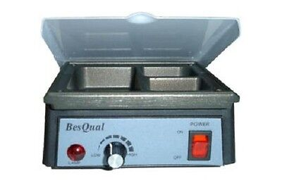 Dental Lab Waxing Unit Wax Heater with 3-Wells, Free Shipping