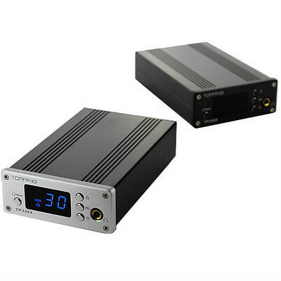 2014 Topping TP32EX 50WPC TK2050 T-AMP Coaxial USB DAC Head Amp Remote Control S