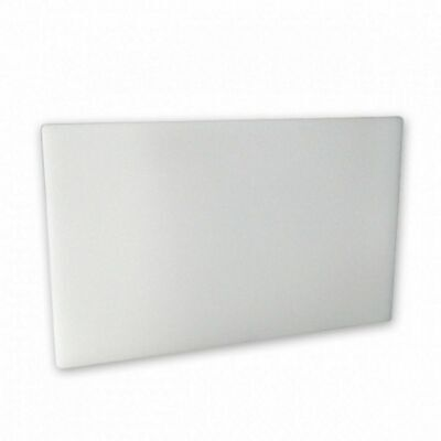 Cutting / Chopping Board, White Polyethylene, 450 X 600 X 13  40322