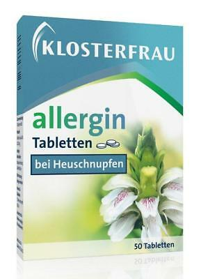 Klosterfrau allergin Tabletten 50St PZN: 5961218