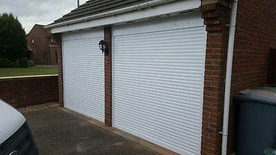 Remote Control Roller Garage Door up to 2440mm x 2205mm in White