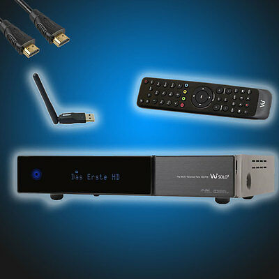VU+ Solo2 Twin Sat Digital HDTV Linux Receiver DVB-S2 E2 Solo 2 Plus+Wifi+HDMI+