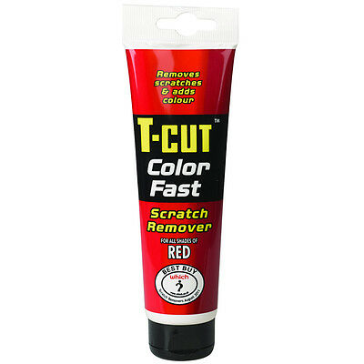 T Cut Color Fast Red Scratch Remover Abrasive Compound Car Polish 150g