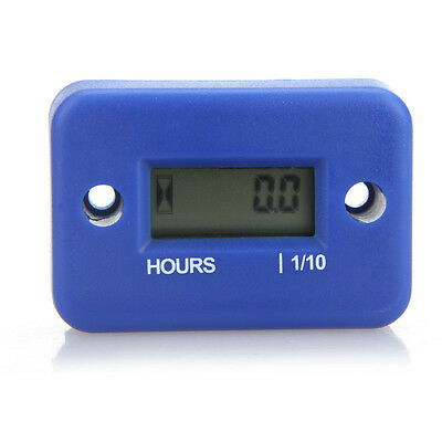 Cronómetro Calibre LCD for Gasoline Engine Motorcycle Mower Snowmobile Blue
