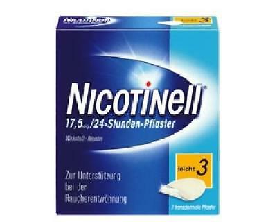 NICOTINELL 17,5 mg leicht 3 Pflaster 7St PZN: 3764502