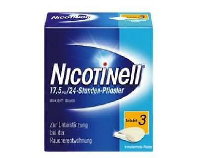 NICOTINELL 17,5 mg leicht 3 Pflaster 14St PZN: 3764519