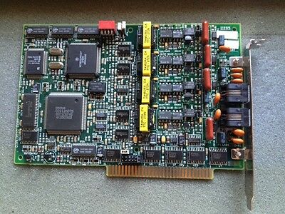 Dialogic D41DHS Half 1/2 Size 4-Port ISA Voice Board D/41DHS 85-163-002-REV A